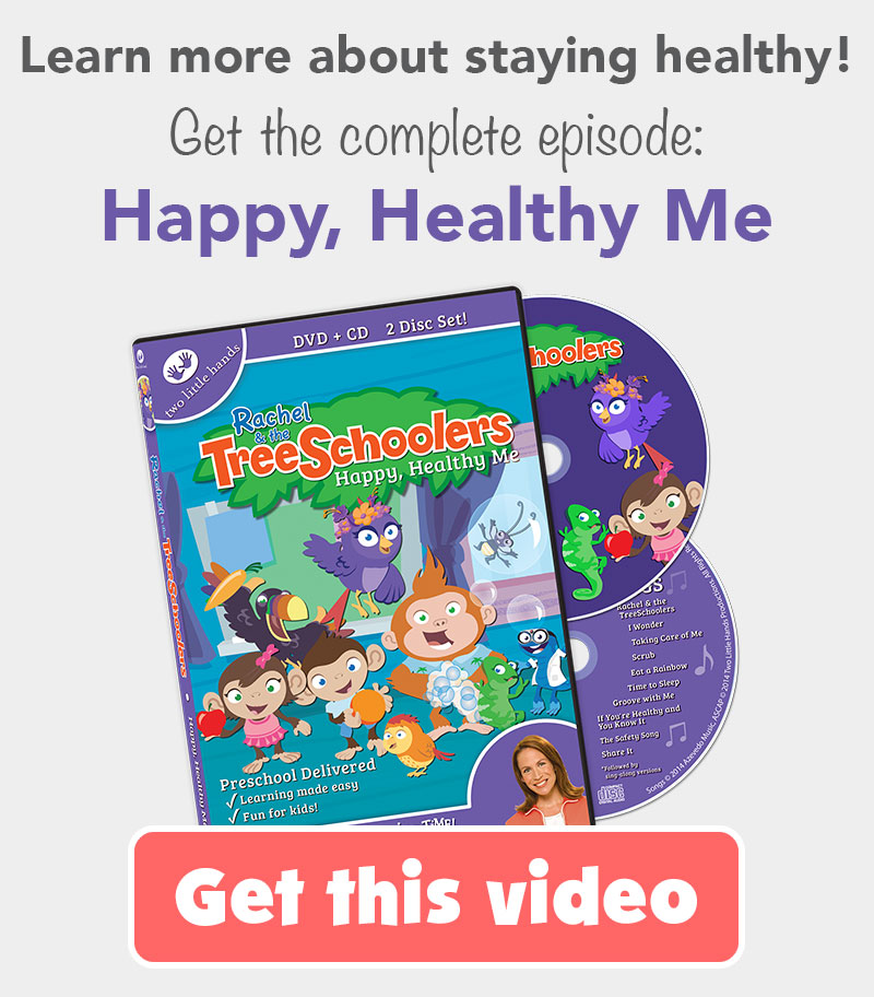 TreeSchoolers Happy, Healthy Me DVD